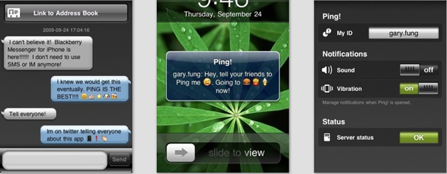 ping-iphone