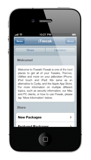 itweak cydia alternative iTweak Store   альтернатива Cydia с веб интерфейсом