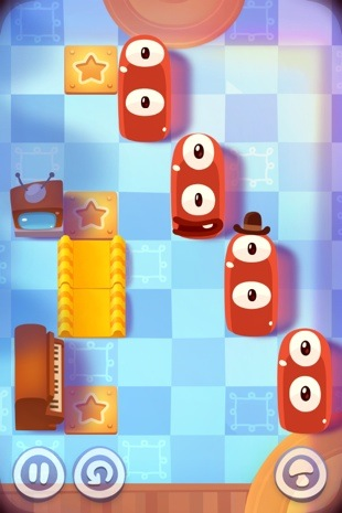 pudding monsters 31 Pudding Monsters — новый хит от создателей Cut The Rope [Обзор]