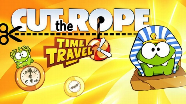 Cut the Rope Time Travel Cut the Rope: Time Travel   Возвращение Ам Няма [Обзор]