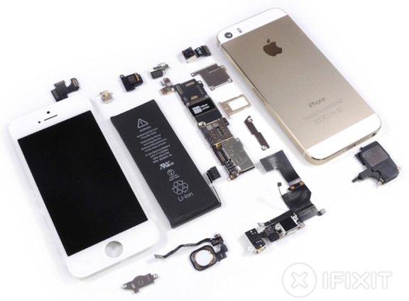 teardown iPhone 5s 1 Сколько Apple обходятся iPhone 5s и iPhone 5c