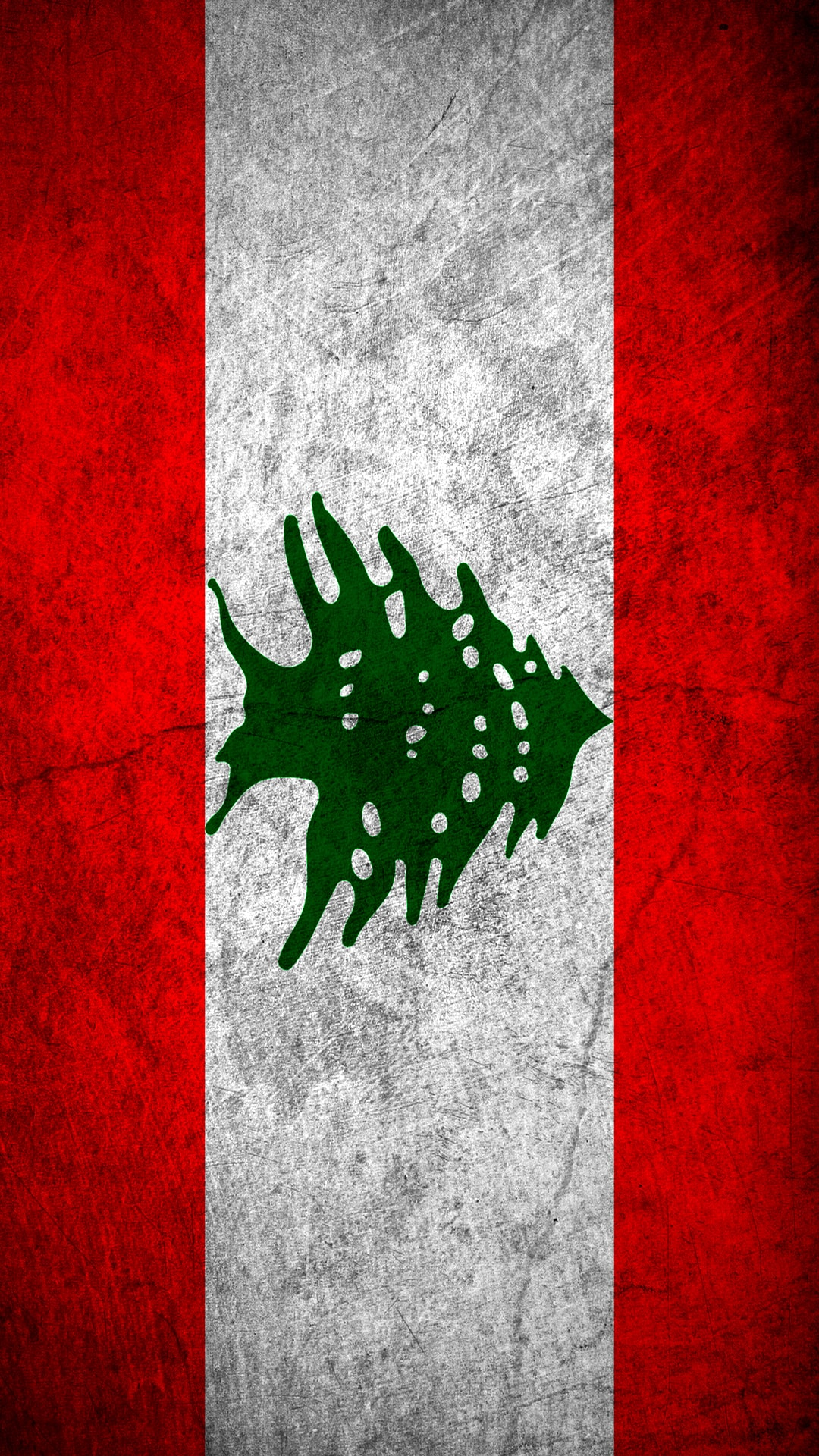LebanonFlag_iPhone6 Plus