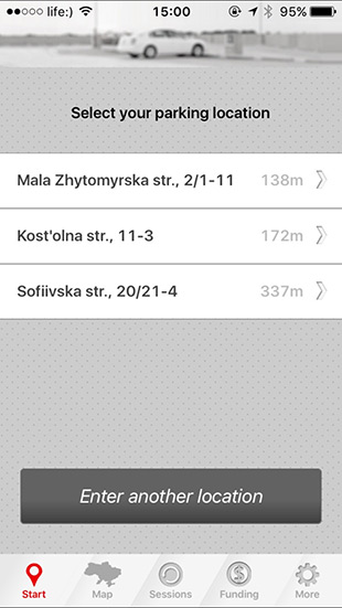 M-Parkuvannya for iPhone