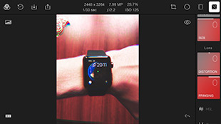 Polarr for iPhone