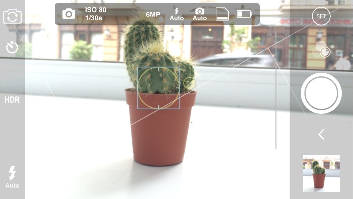 Pro Cam 2 manual camera app for iPhone