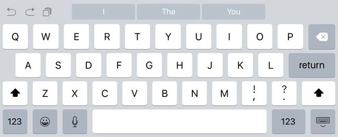 iOS 9 beta 2 keyboard changes