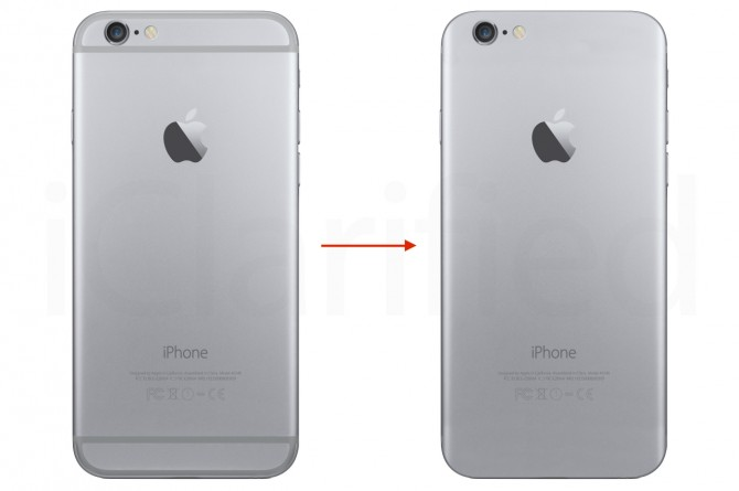 iPhone without plactic strips