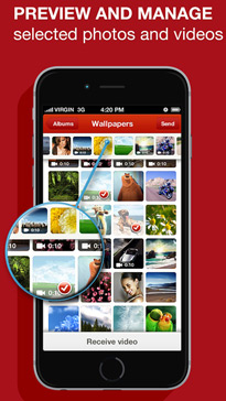 Video and Photo Transfer wifi app