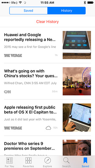 Обзор Apple News