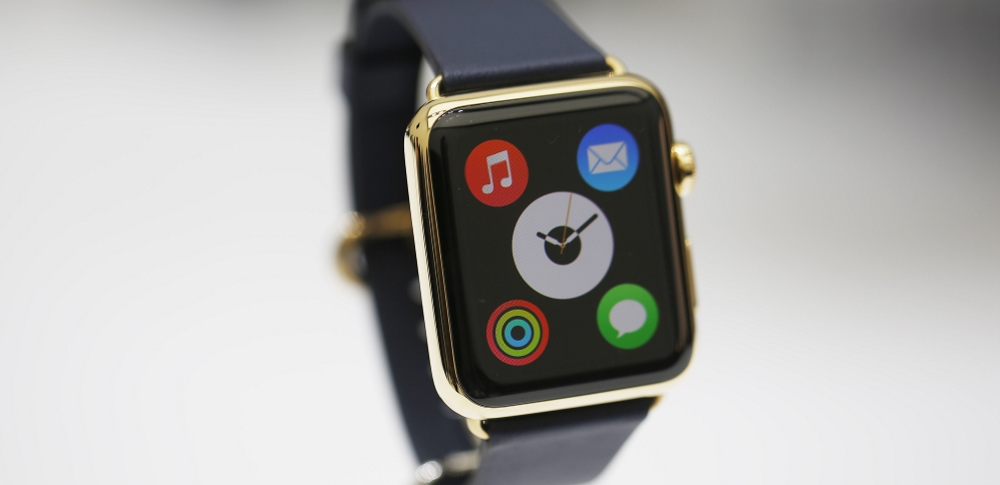 Экран Apple Watch