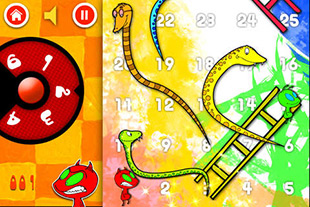 Snakes And Ladders Fun BeginsSnakes And Ladders Fun Begins