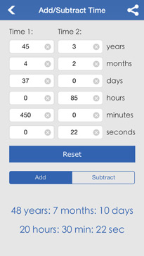 Date & Time Calculator (9 in 1)