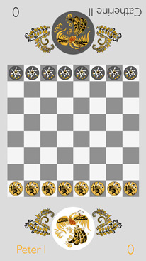Chapaev Online - unique hybrid of checkers and billiards