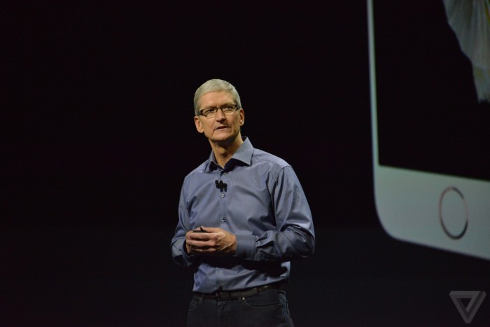 iPhone 6s and Tim Cook