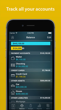 Money Pro - Bills, Budgets and Accounts w/ Sync