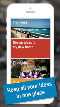 IDEAZ - Keep your ideas in one place