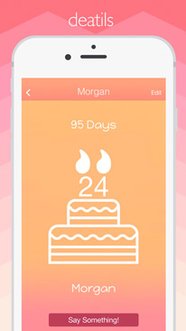 Birthdate - beautiful birthday reminder + eCards
