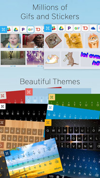 ReBoard: Keyboard with multitasking, themes, gifs