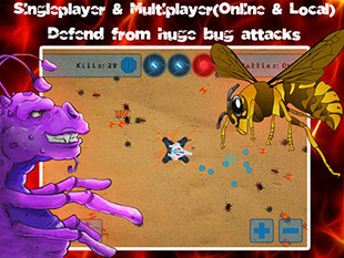 Burn the Bugs - Multiplayer Online Game
