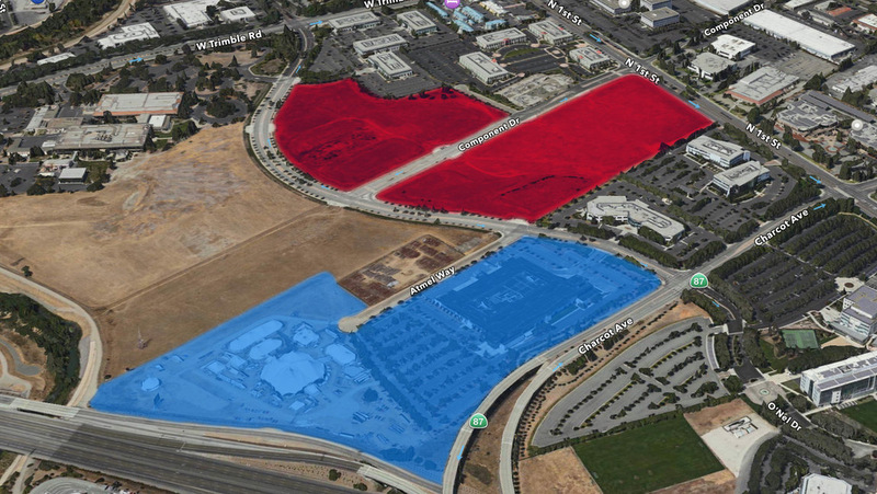 apple's san jose land