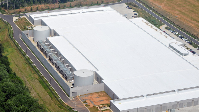 Apple's North Carolina datacentre