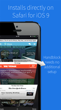 Handblock - Block Ads, Fast Safari Browsing