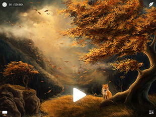 Windy ~ Sleep Relax Meditate with natural white noise sounds to calm your mind and focus