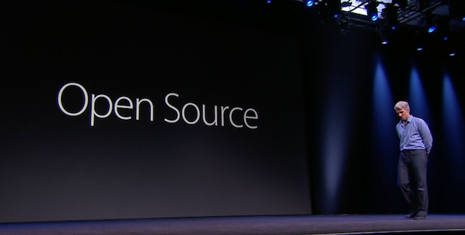 Swift is open source