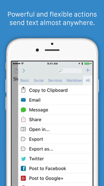 Drafts 4 - Quickly Capture Notes, Share Anywhere!