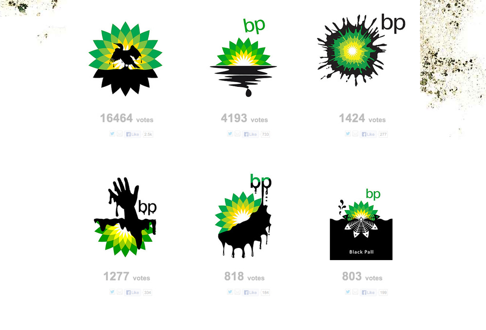 Creative-BP-Oil-Spill-Logos
