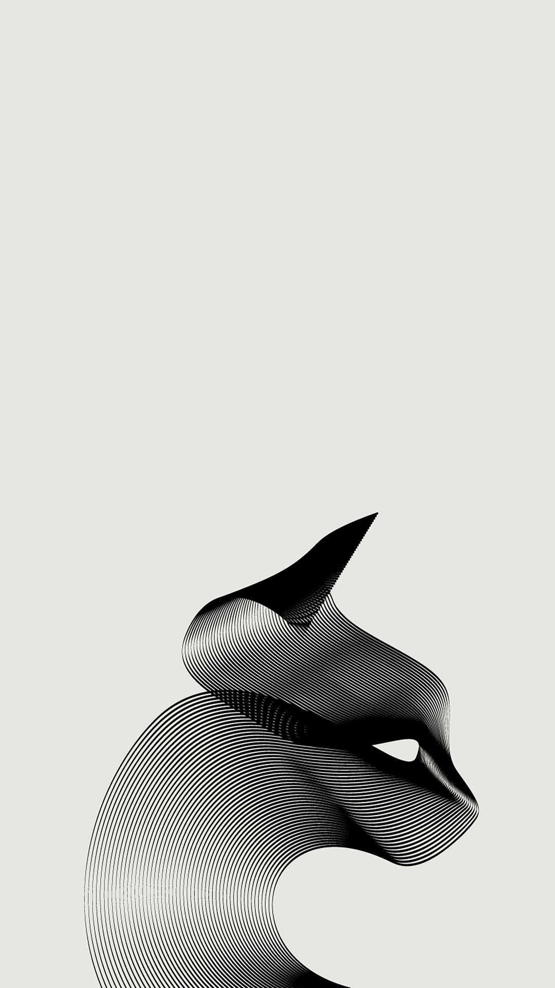 cat-in-lines-mobile-wallpaper-minimalist-3072x4096