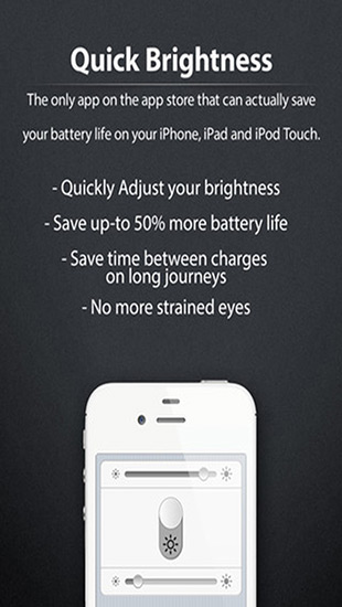 Quick Brightness - Control the Power