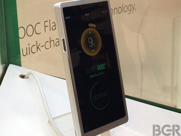 OPPO SuperVook FastCharging technology