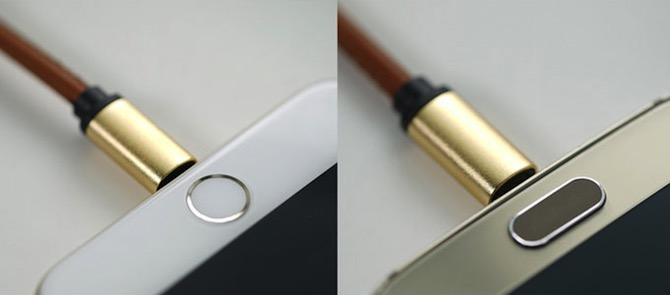 LMcable — universal Lightning and microUSB cable