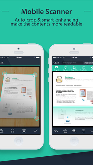 CamScanner +| PDF Document Scanner and OCR