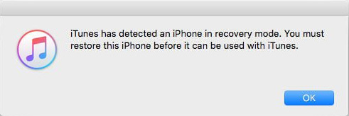 itunes-detected-iphone-in-recovery-mode