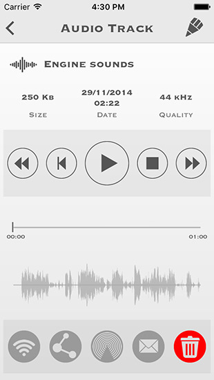 My Rec - Audio Recorder