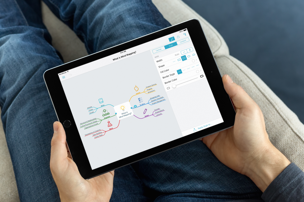 MindNode 4.0 for iPad