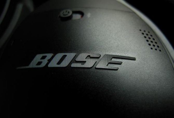 Bose wireless headphones are pictured in Encinitas
