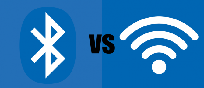 Bluetooth vs Wi-FI